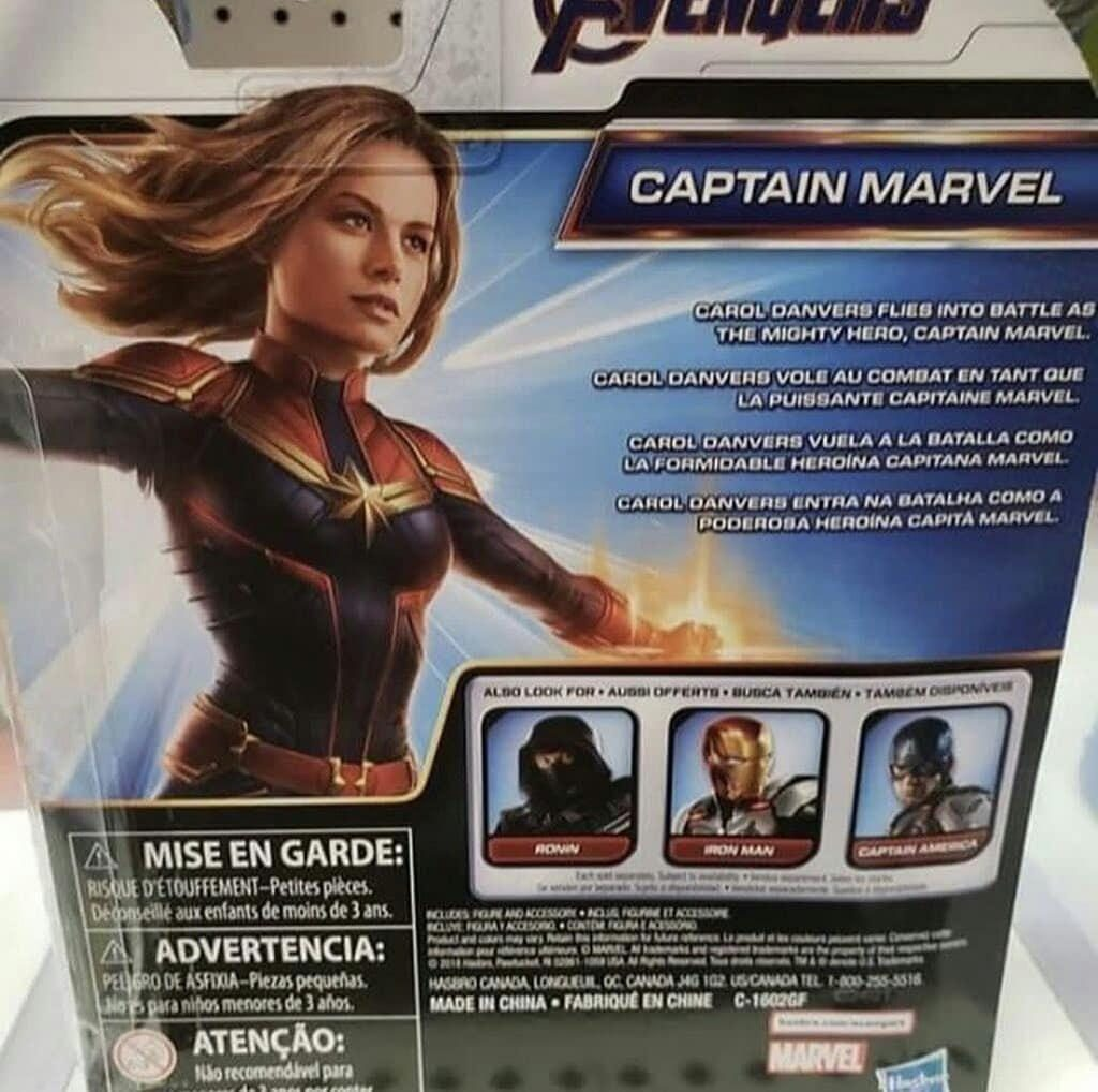 Утечка: игрушки по «Мстителям» показали ещё один меха-костюм и персонажа с когтями 7
