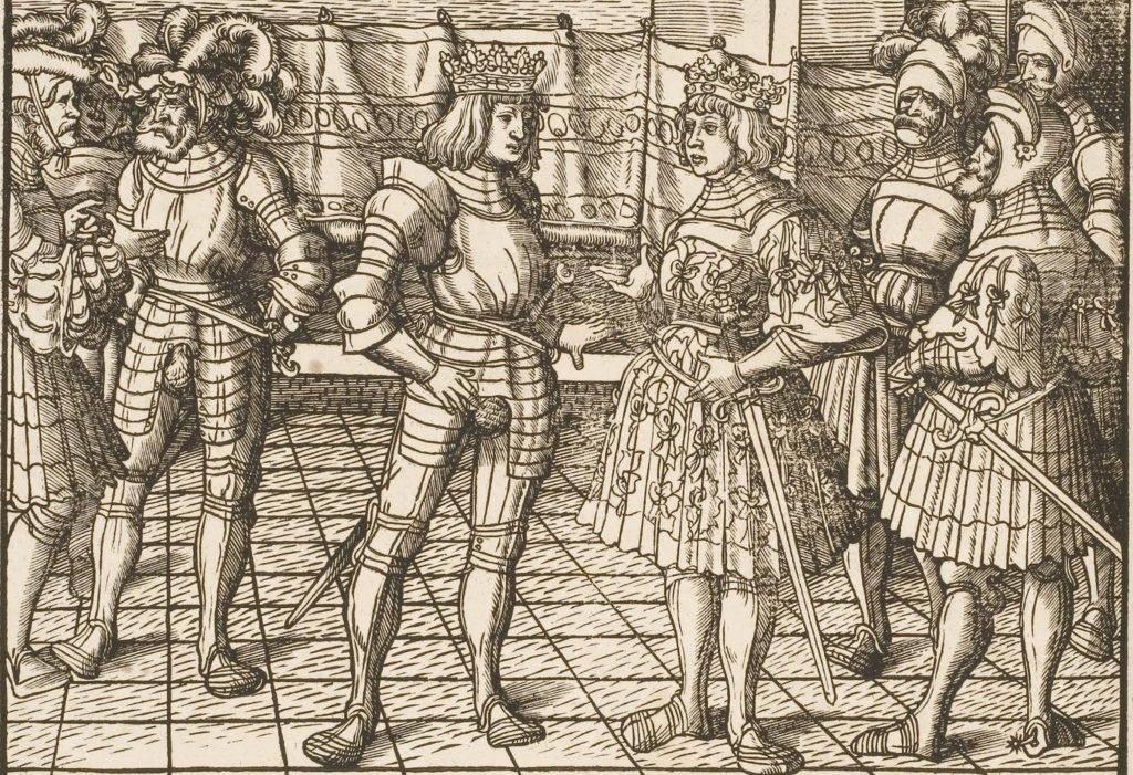 При дворе средневекового короля. Как жили придворные 13