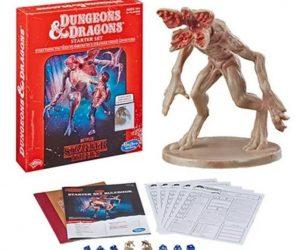 Hasbro выпустит стартовый набор для D&D с персонажами «Очень странных дел»