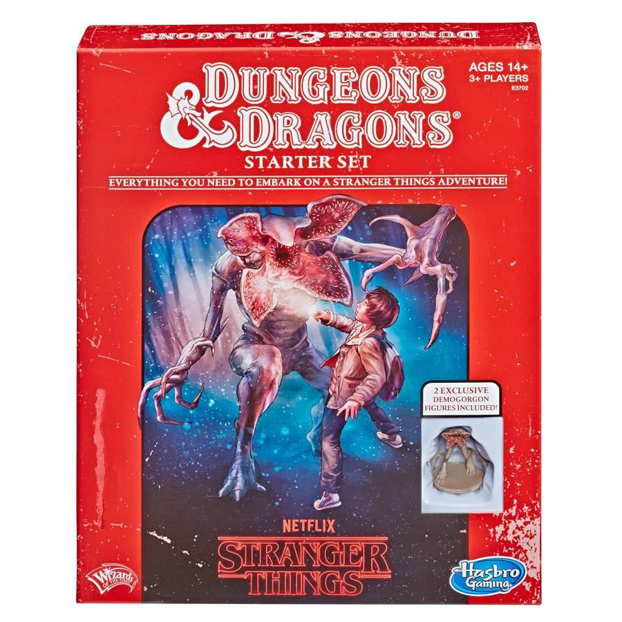 Hasbro выпустит стартовый набор для D&D с персонажами «Очень странных дел» 1