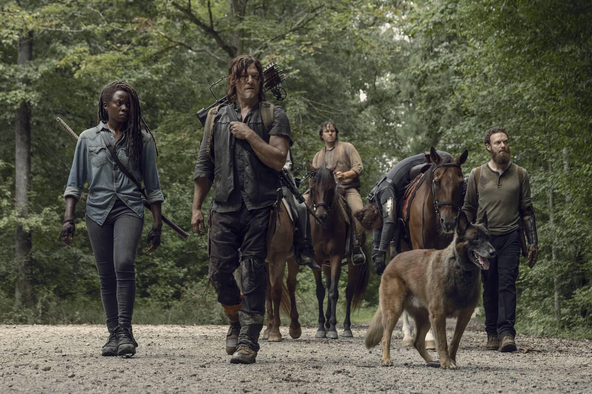 AMC продлил «Ходячих мертвецов» на десятый сезон.