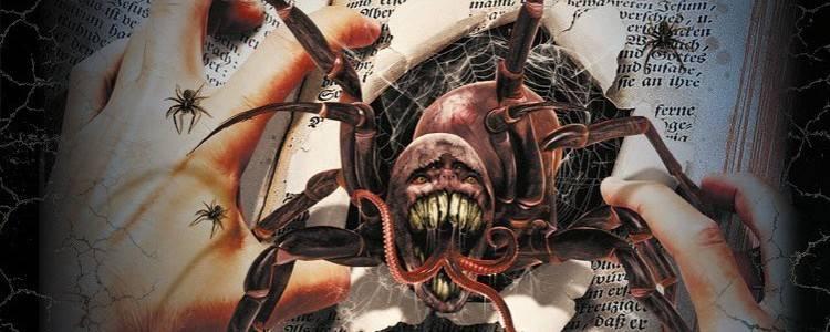 Дэвид Вонг В этой книге полно пауков. Серьёзно, чувак, не трогай её