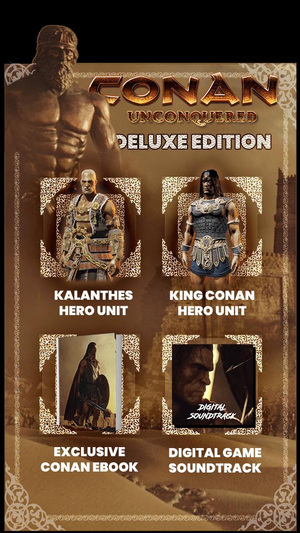 Первый геймплей Conan Unconquered — RTS во вселенной Конана-варвара 1