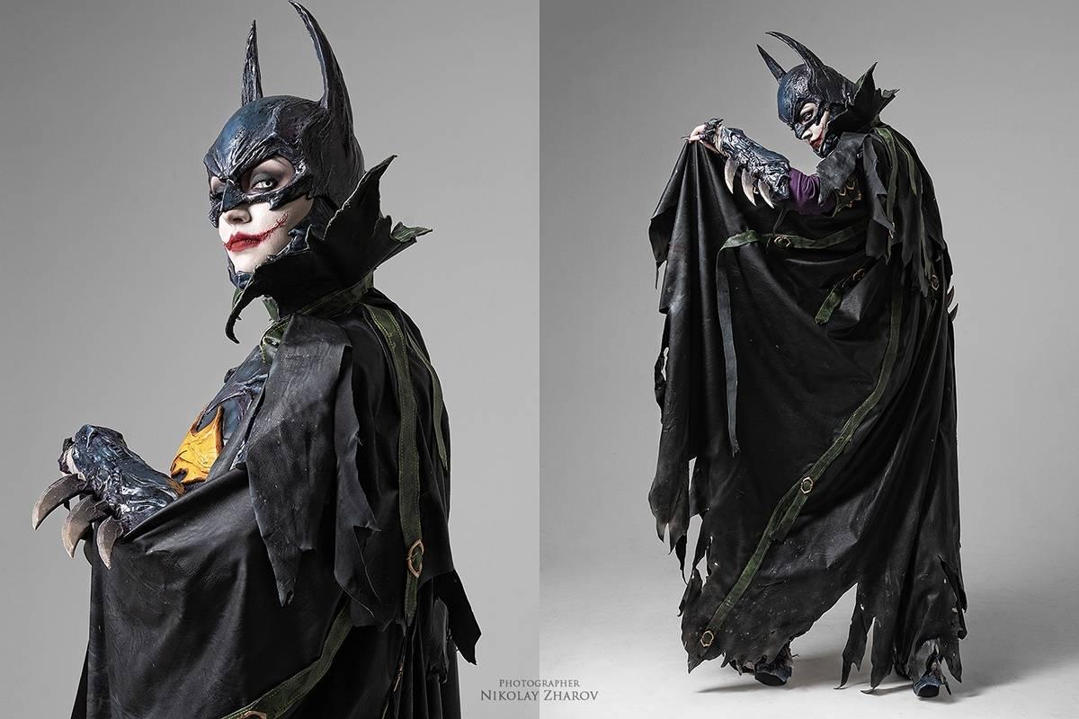 Косплей: образ-кроссовер Бэтгёрл и Джокера 8