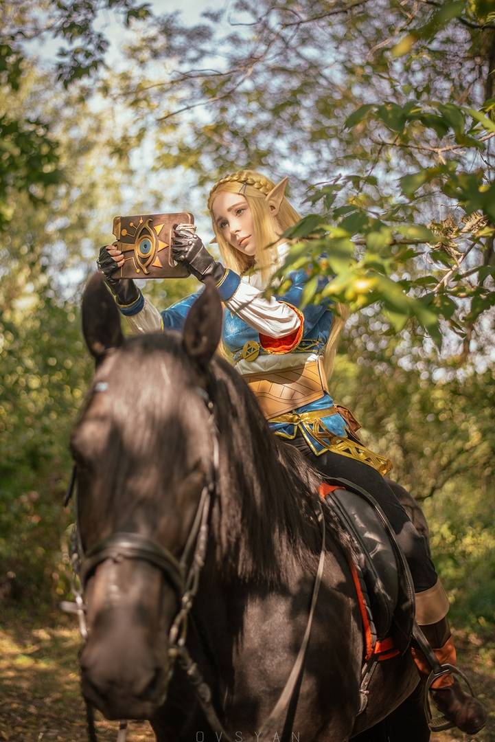 Косплей: Зельда, принцесса Хайрула 8