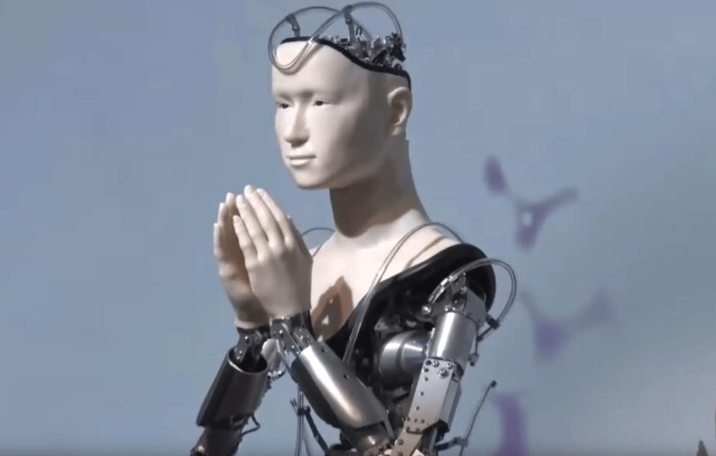 В Японии запустили робота-священника —в марте он начнёт читать проповеди