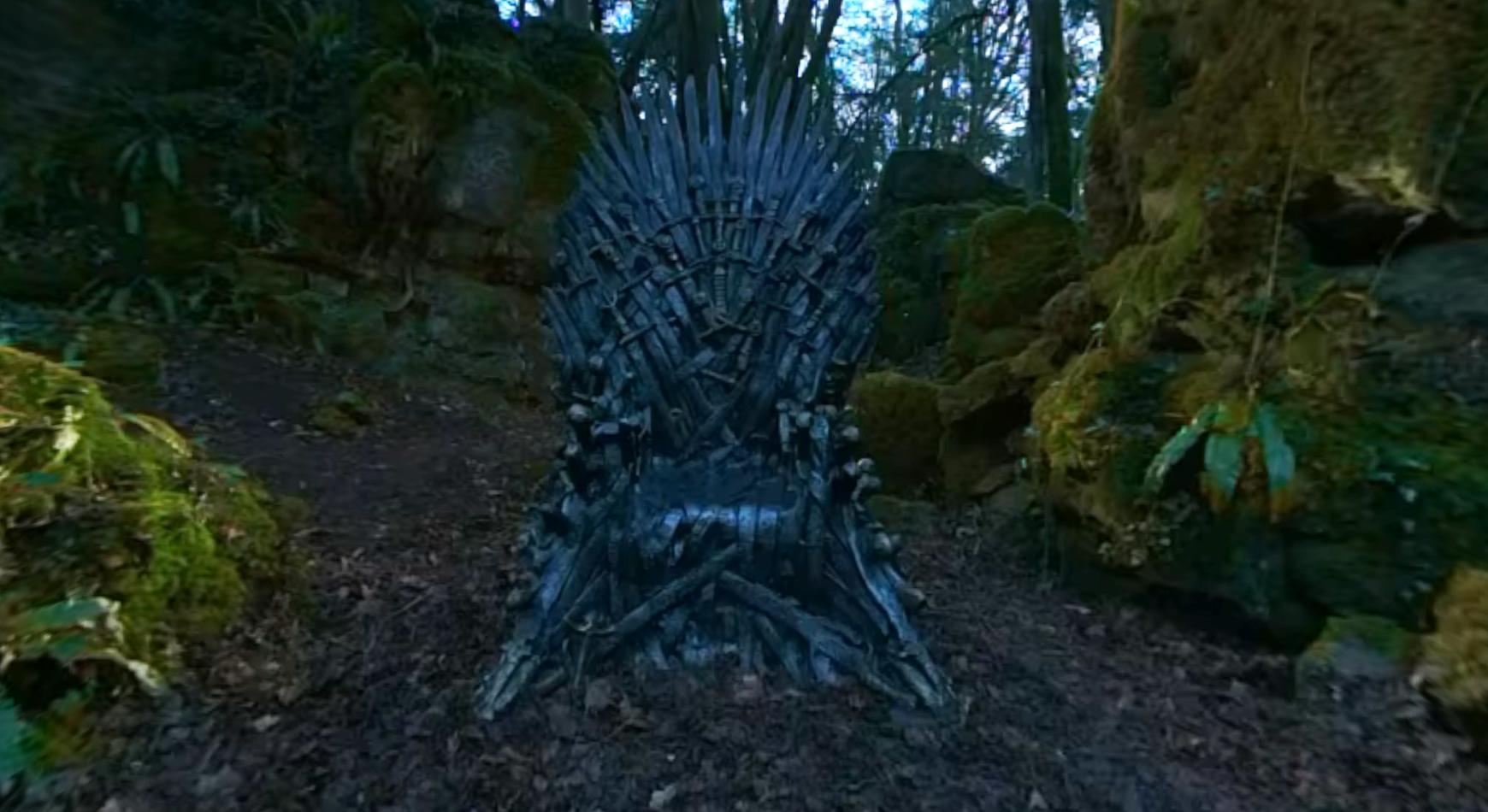 HBO запустили квест по поиску железных тронов по всему миру