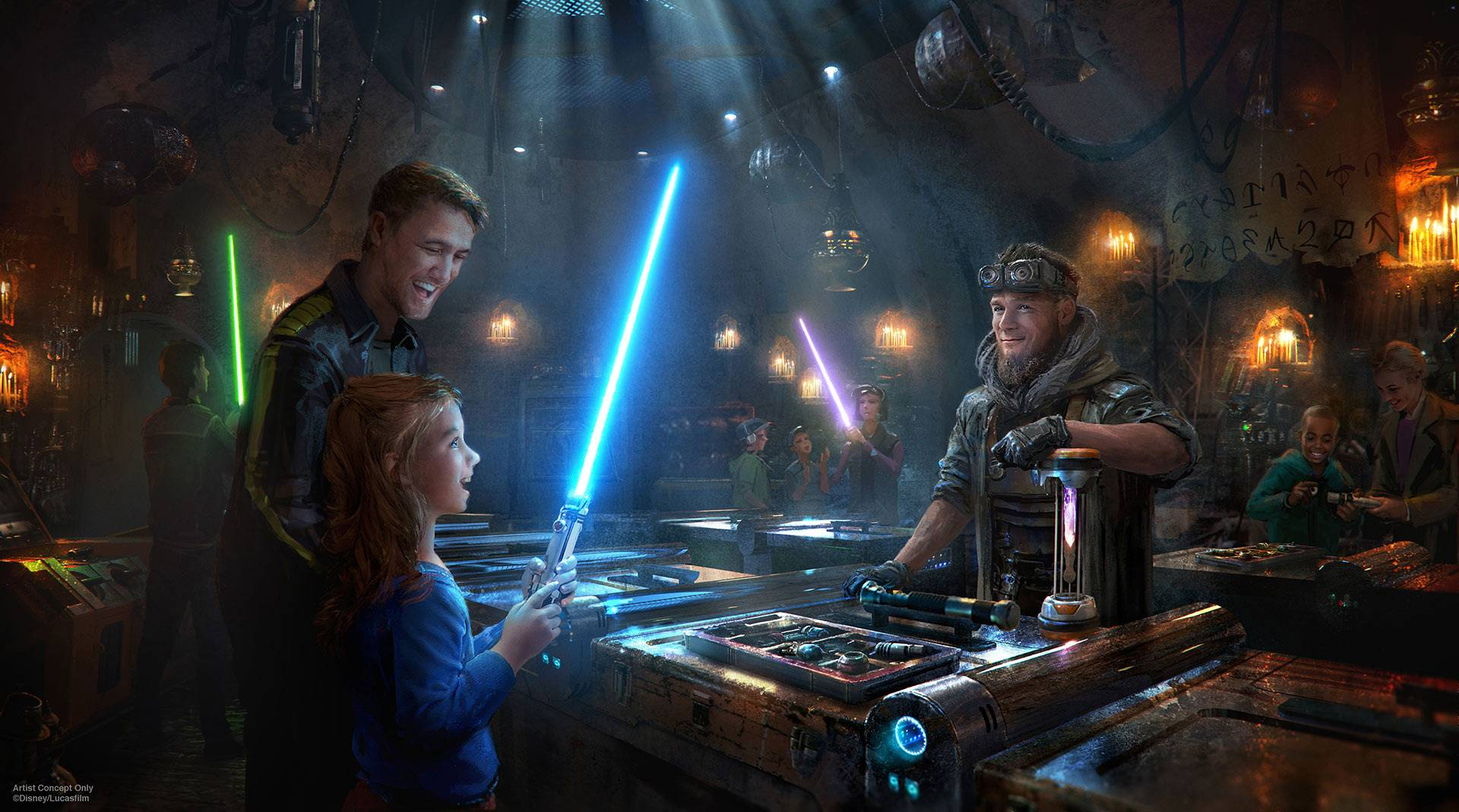 «Диснейленд» по «Звёздным войнам»: что будет в Galaxy's Edge 20