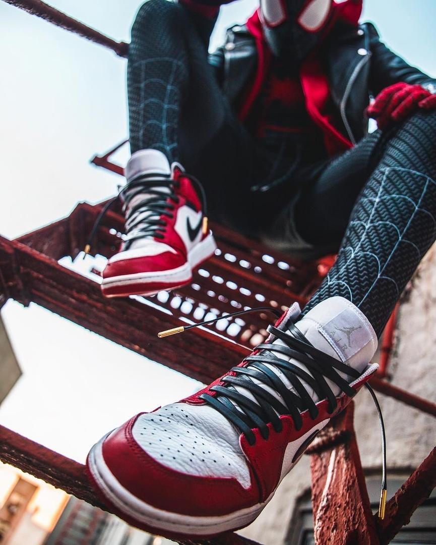 Косплей: герои мультфильма «Человек-паук: Через вселенные» 8