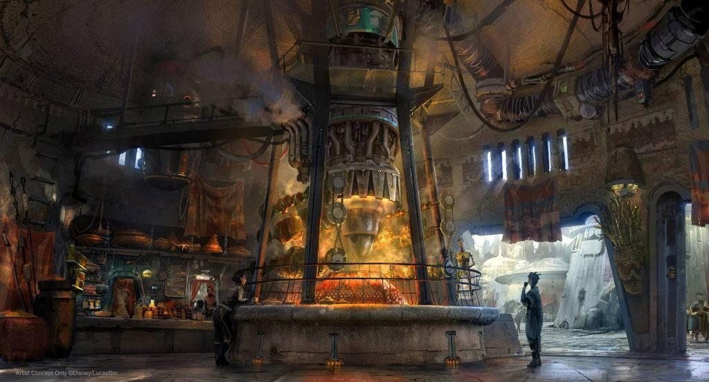 «Диснейленд» по «Звёздным войнам»: что будет в Galaxy's Edge 27