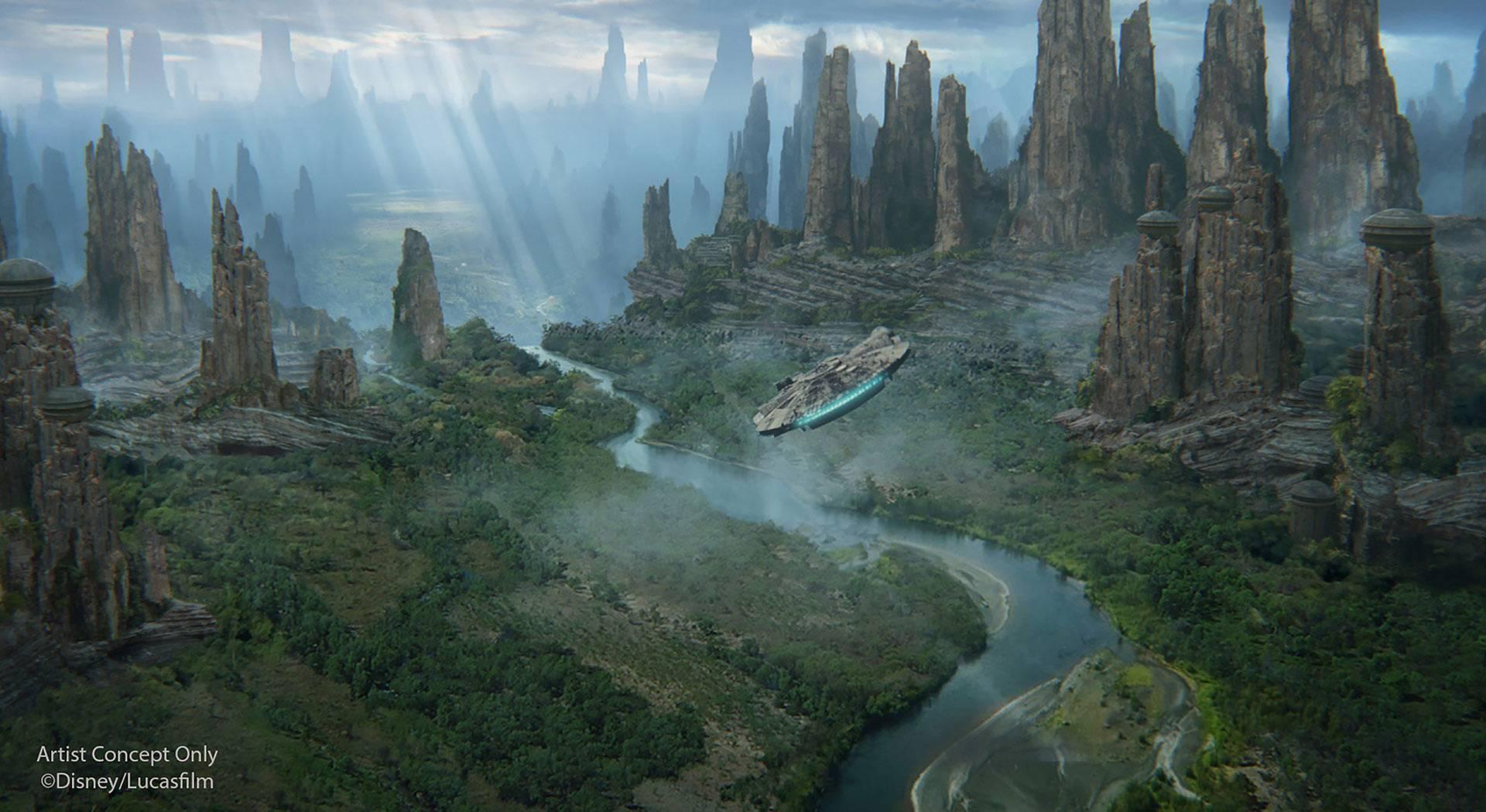 «Диснейленд» по «Звёздным войнам»: что будет в Galaxy's Edge 29