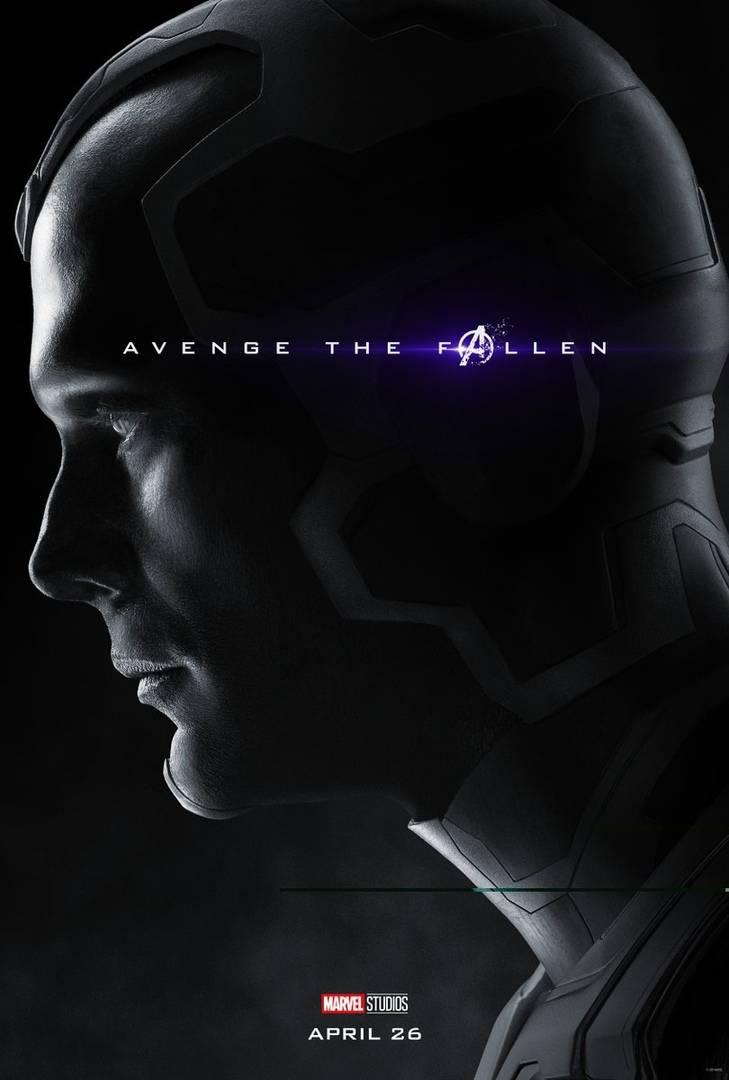 Студия Marvel показала 32 постера к фильму «Мстители: Финал» 29