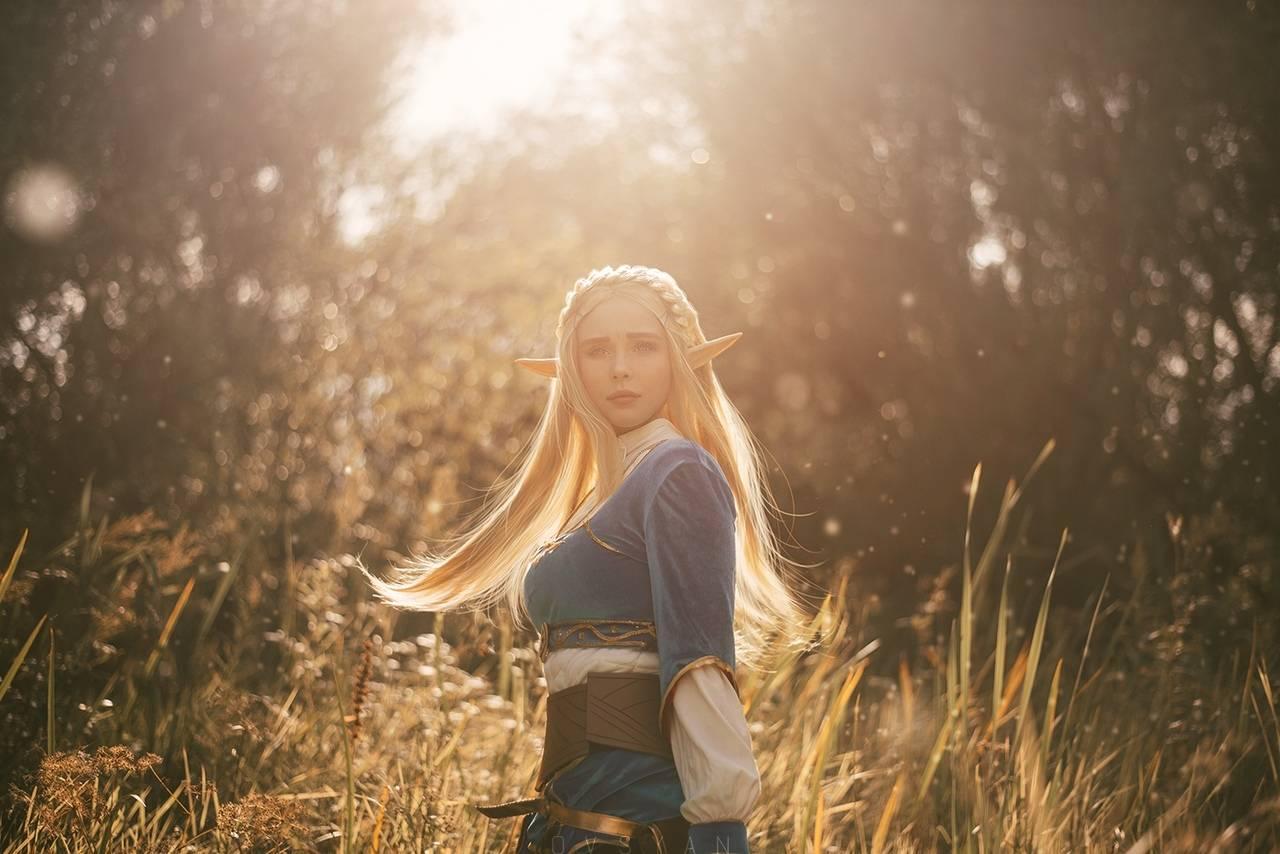 Косплей: Зельда, принцесса Хайрула 4
