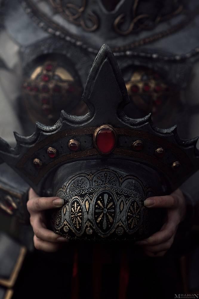 Косплей: Царевна Несмеяна из «Сказок Старой Руси» Романа Папсуев 6