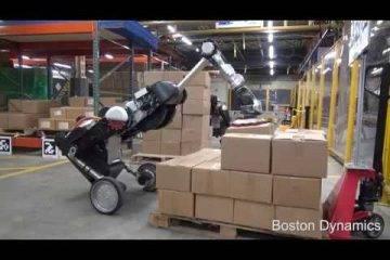 Boston Dynamics показала робота-грузчика Handle