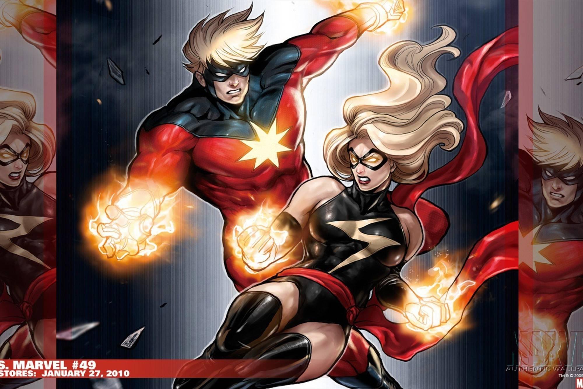 Капитан Марвел в комиксах 5