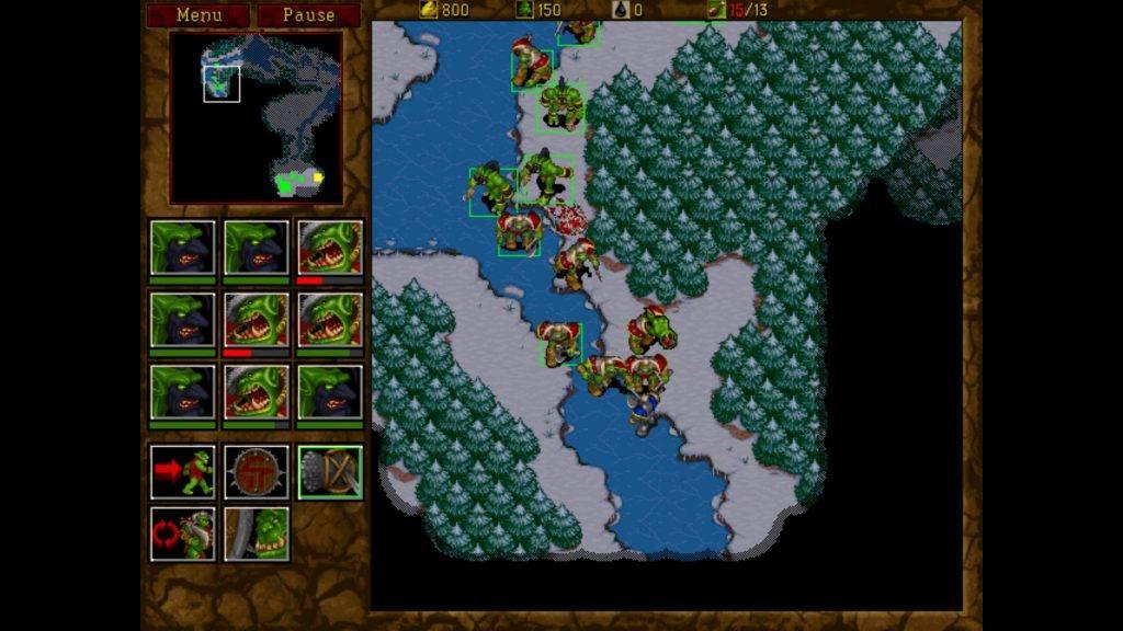 Blizzard и GOG выпустили в продажу первые две части Warcraft 4