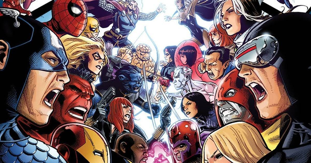 Слух: Marvel планирует снять фильм «Мстители против Людей Икс».