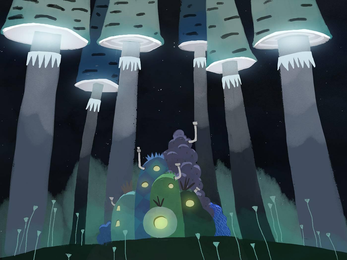 Короткометражка Forest Dreams: изумительный ролик о ночных чудесах 4