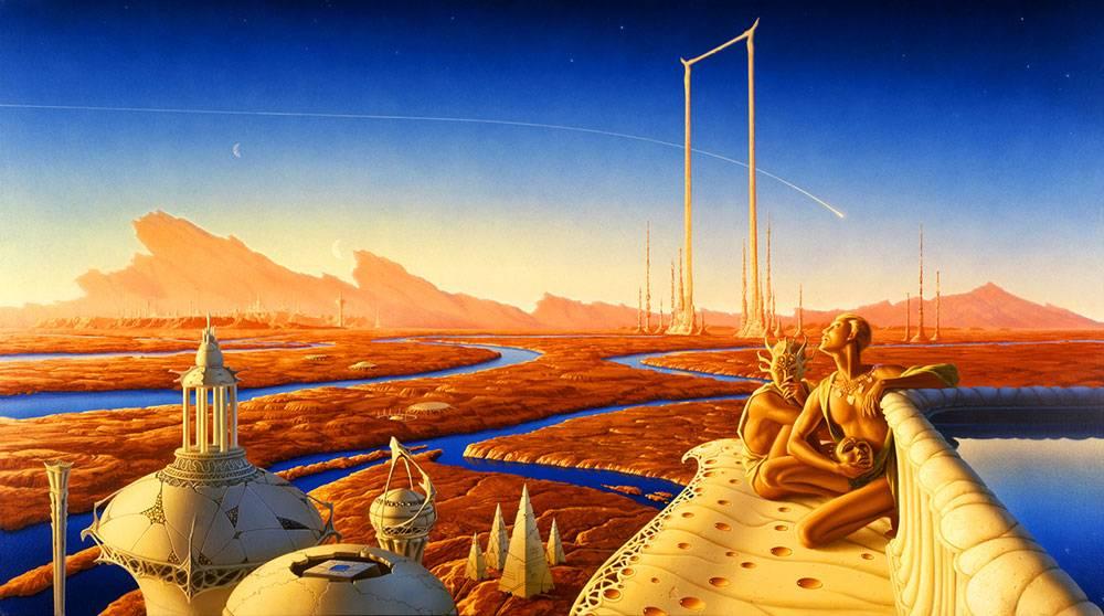 14 апреля «Модель для сборки» прочтёт «Марсианские хроники» Рэя Брэдбери