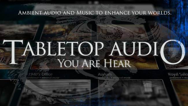 Находка: подборка тематических саундтреков и настройка фоновых звуков в Tabletop Audio