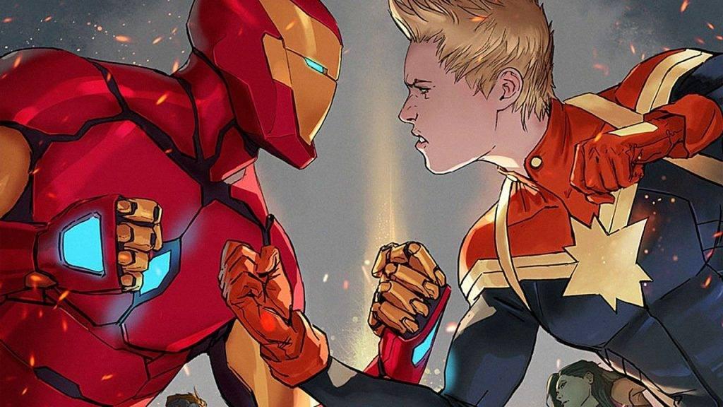Капитан Марвел в комиксах 11