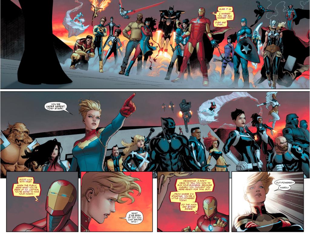 Капитан Марвел в комиксах 13
