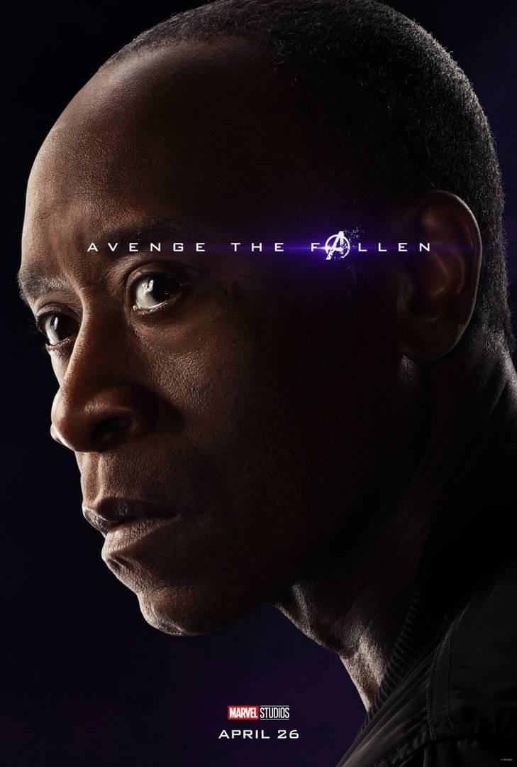 Студия Marvel показала 32 постера к фильму «Мстители: Финал» 7