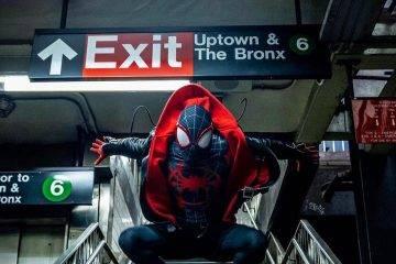 Косплей: герои мультфильма «Человек-паук: Через вселенные» 11