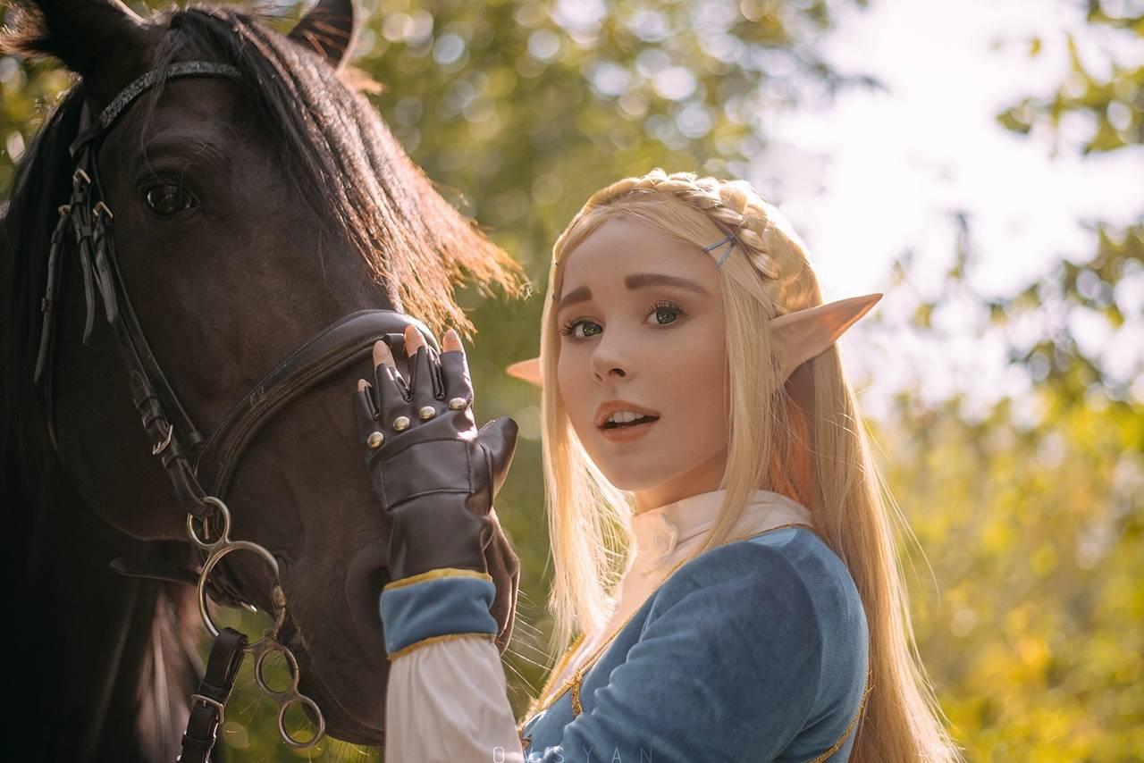 Косплей: Зельда, принцесса Хайрула 2