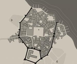 Находка: генератор фэнтезийных замков и городов