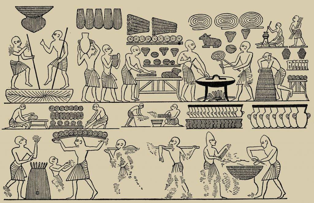 Кухня попаданца: что ели в Древнем Египте 3