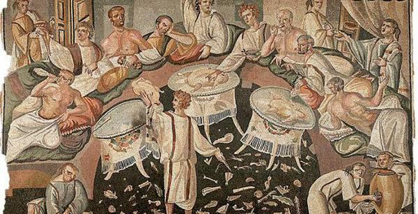 Кухня Древнего Рима: что ели гладиаторы и императоры 12