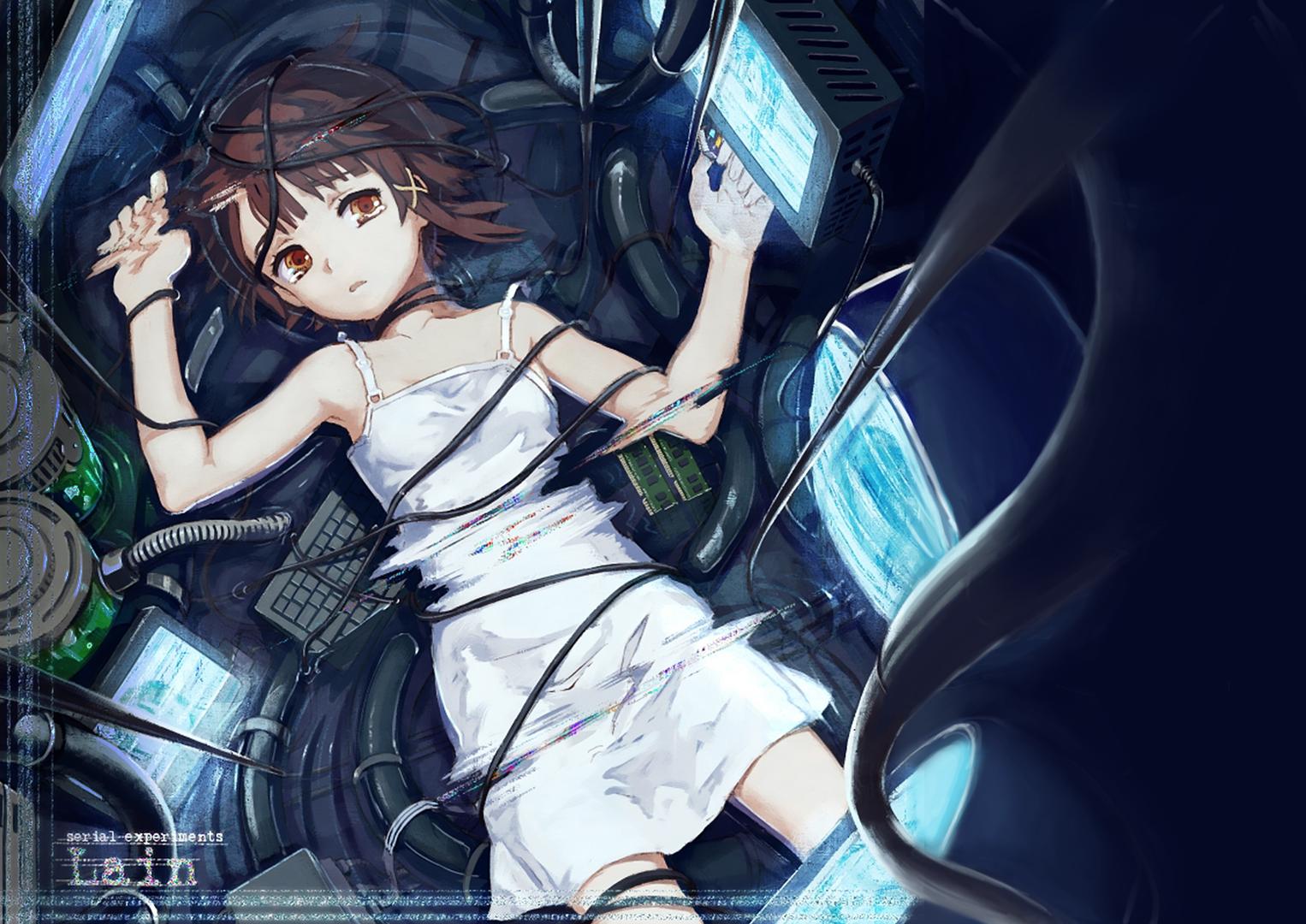 «Эксперименты Лэйн»: самое психоделичное киберпанк-аниме