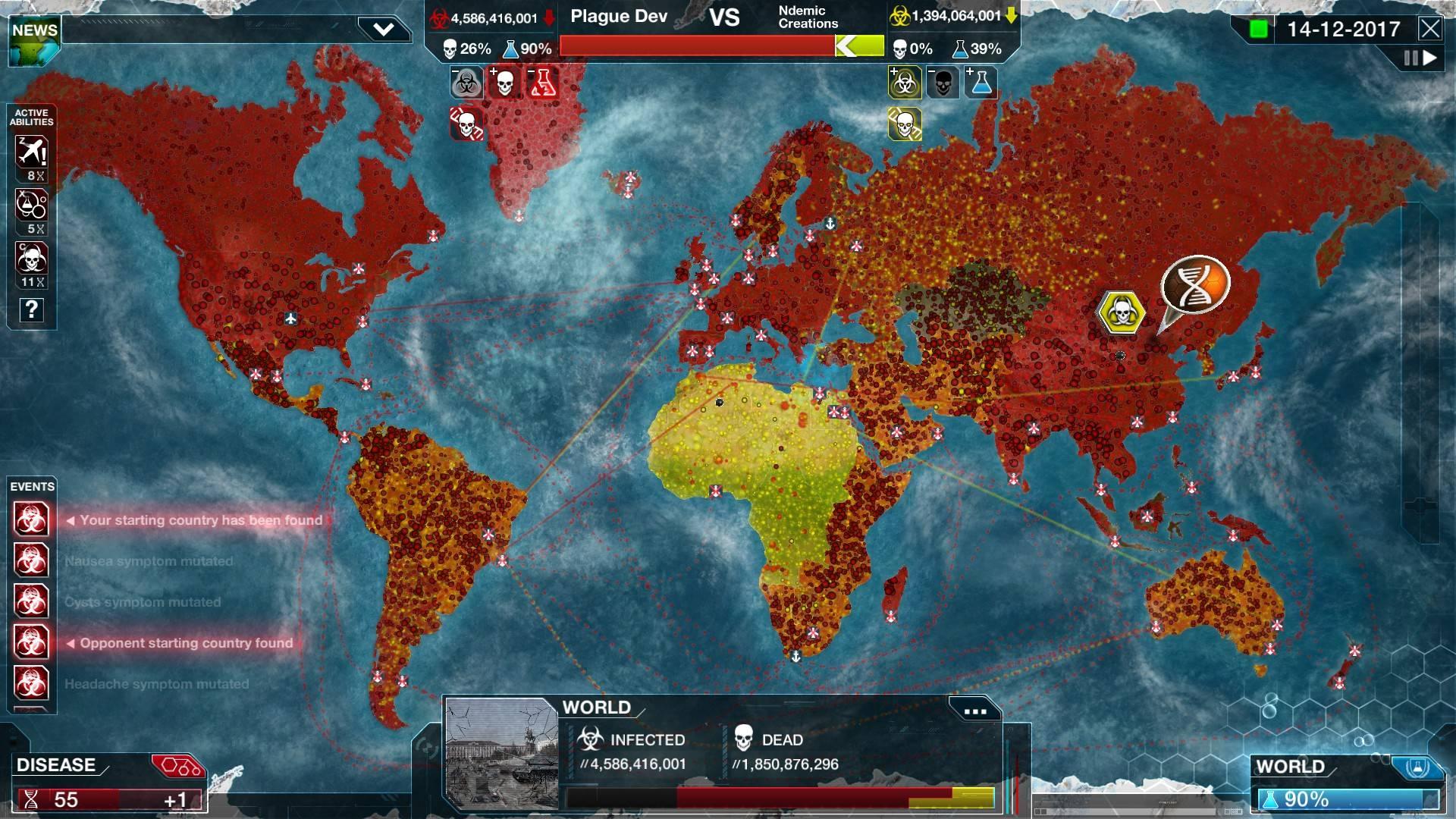 Создатели Plague Inc. пообещали добавить в игру антипрививочников — они будут помогать распространению патогена