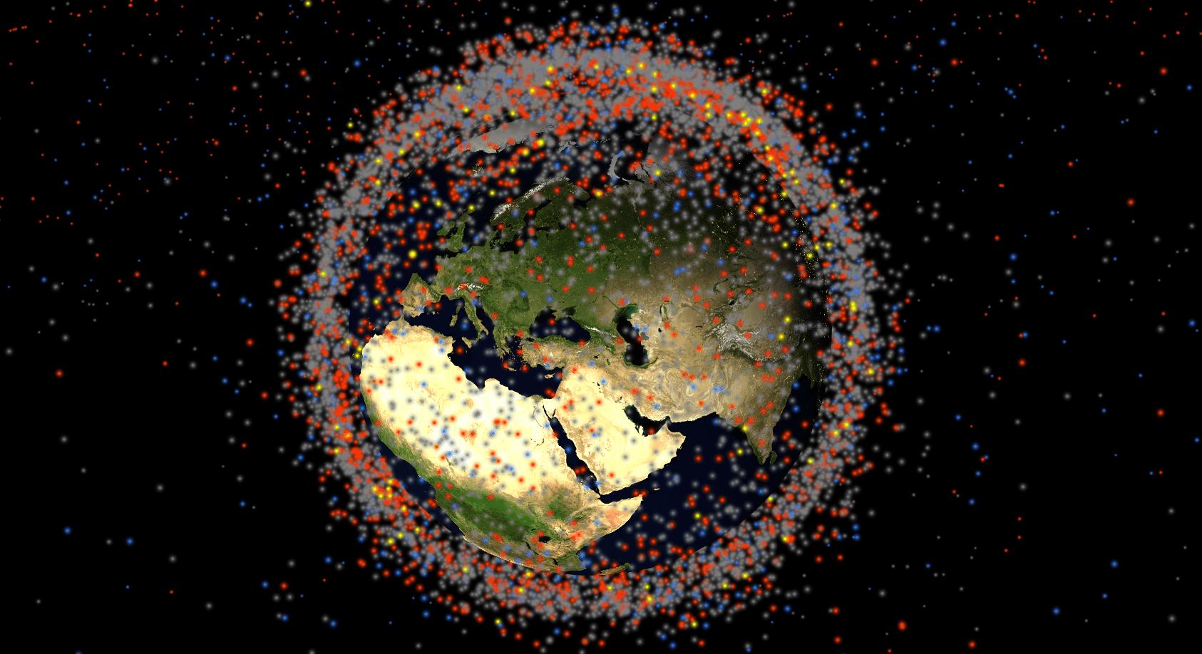 В России разработали проект спутника-пожирателя