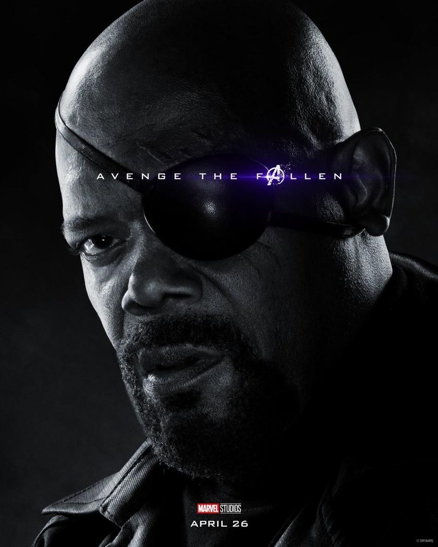 Студия Marvel показала 32 постера к фильму «Мстители: Финал» 26
