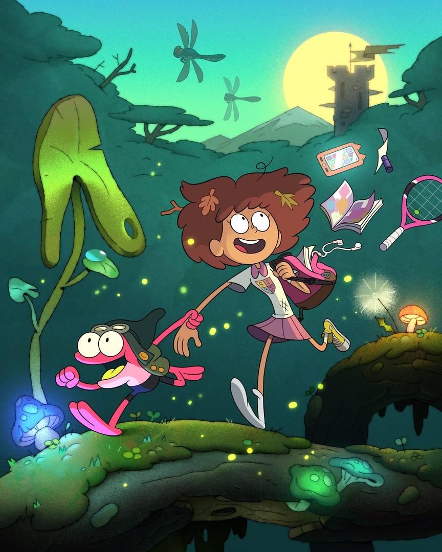 Первые кадры и видео «Амфибии» — мультсериала Disney про самовлюблённую девочку и разумную лягушку 7