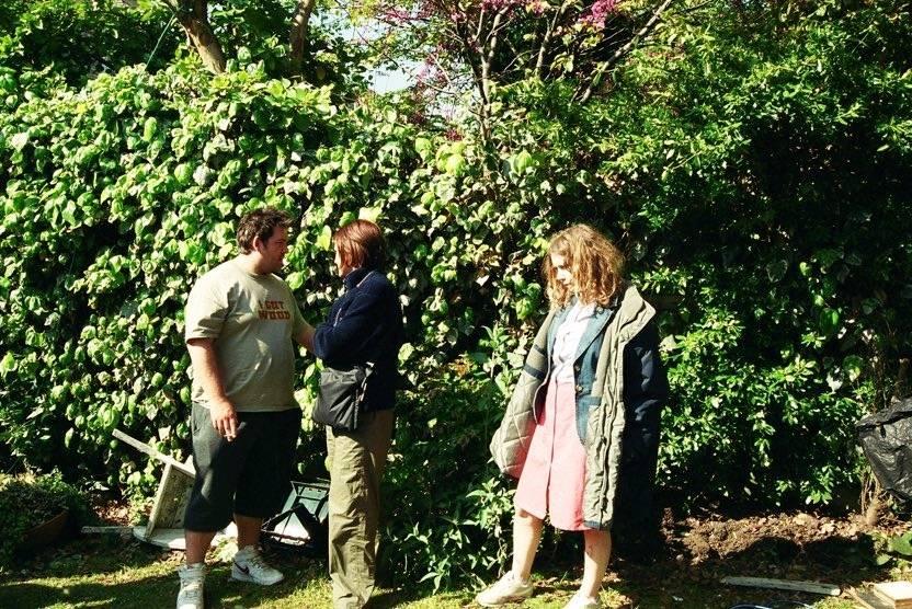 Фото: Эдгар Райт поделился снимками со съёмок «Зомби по имени Шон» в честь 15-летия фильма