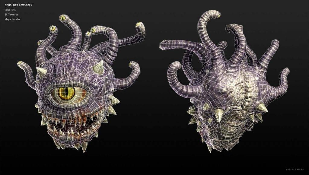 Бехолдеры. Злые глаза — символ D&D 10