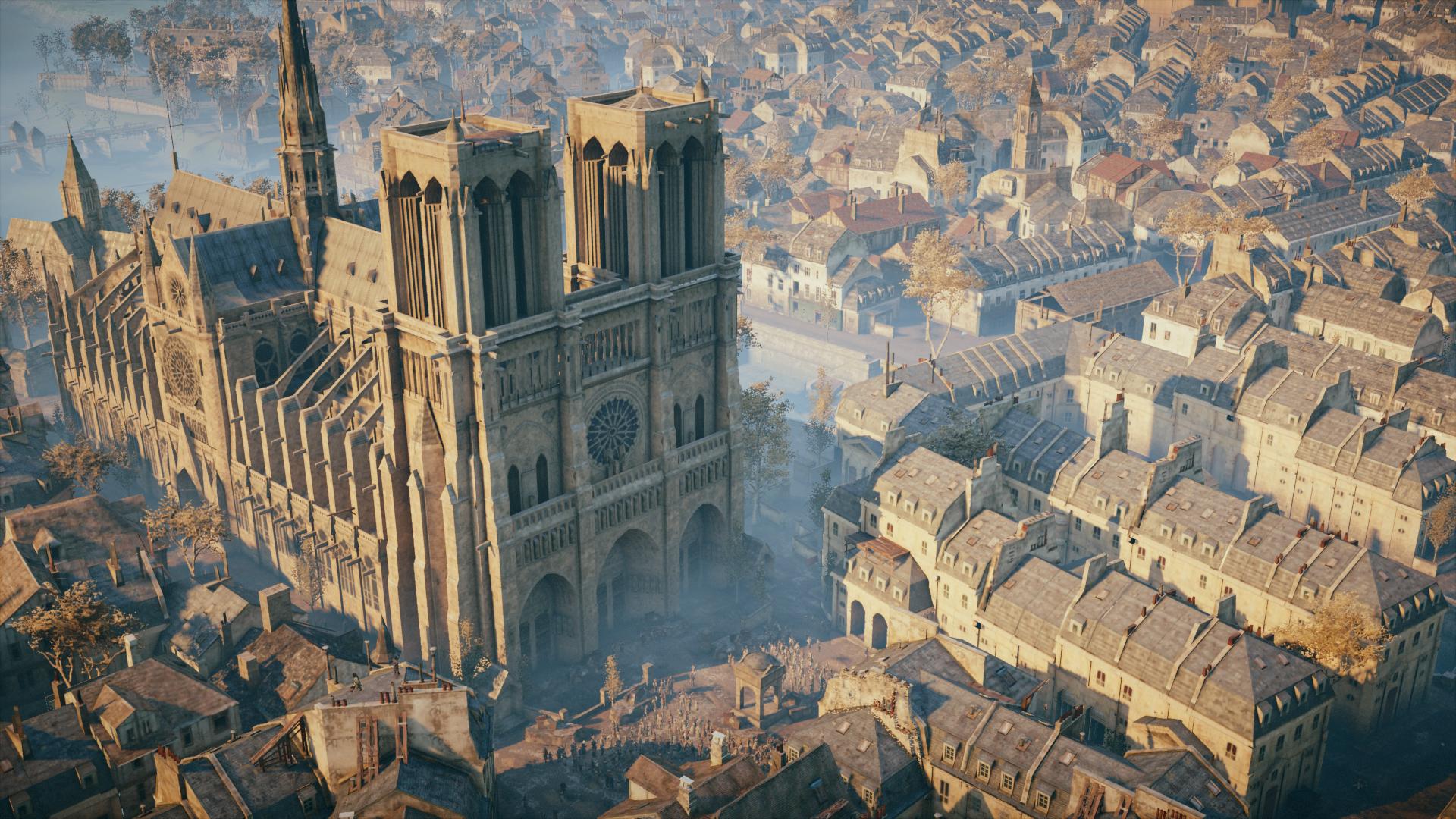 Помощь в восстановлении Нотр-Дама предложила художница Assassin's Creed: Unity
