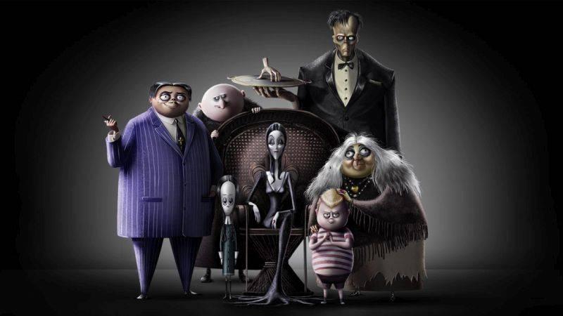 Первый тизер анимационной «Семейки Аддамс» 4