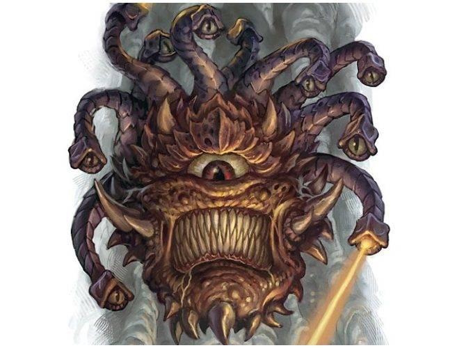 Бехолдеры. Злые глаза — символ D&D 5
