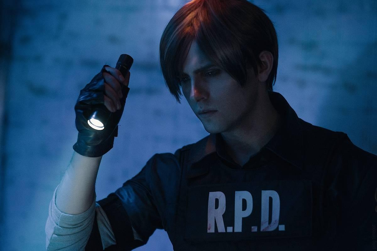 Косплей: Леон Кеннеди из Resident Evil 2 5