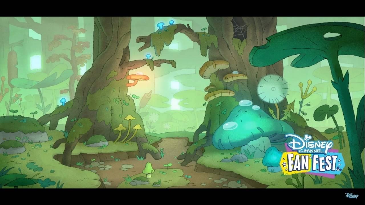Первые кадры и видео «Амфибии» — мультсериала Disney про самовлюблённую девочку и разумную лягушку 1