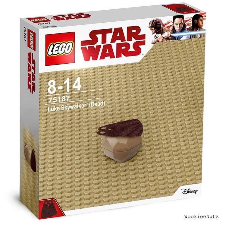 Тред: Марк Хэмилл и несуществующие наборы Lego по «Звёздным войнам» 4