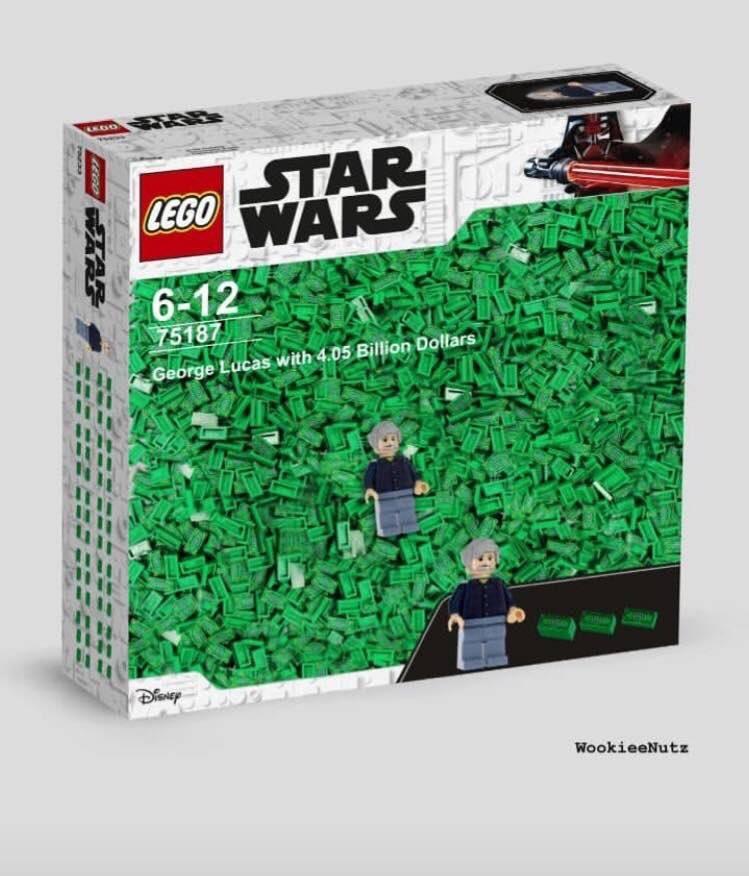 Тред: Марк Хэмилл удивляется несуществующим наборам Lego