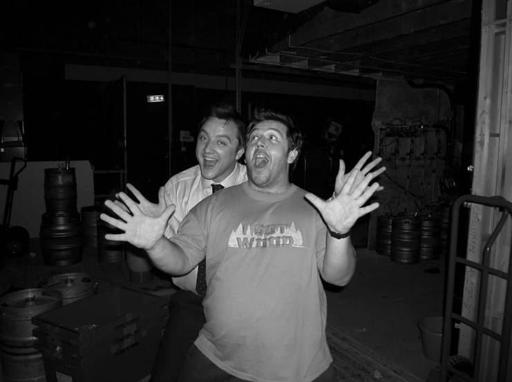 Фото: Эдгар Райт поделился снимками со съёмок «Зомби по имени Шон» в честь 15-летия фильма 3