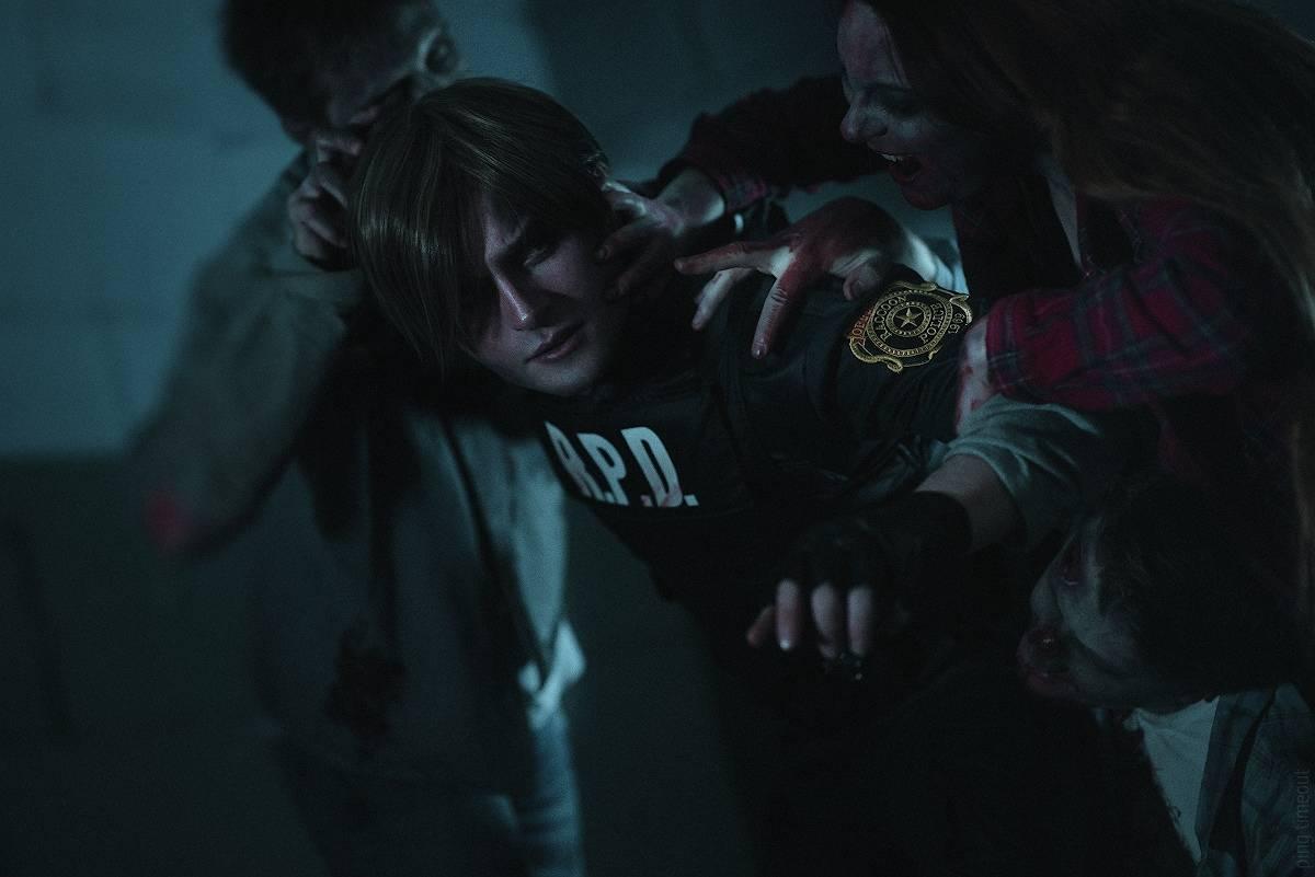 Косплей: Леон Кеннеди из Resident Evil 2