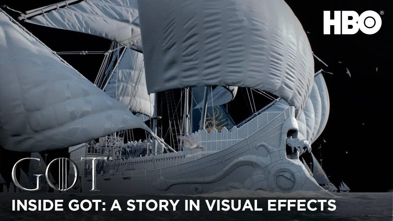 Видео: визуальные эффекты в «Игре престолов»